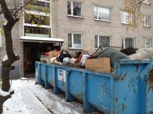 Вывоз старой мебели и мусора